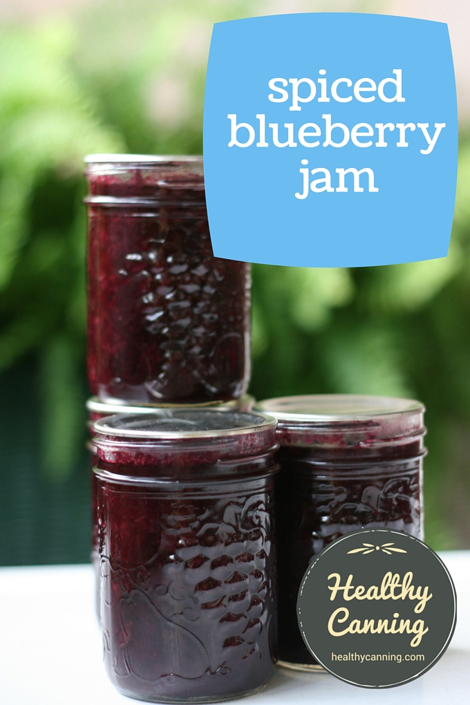 Spiced blueberry jam 2002