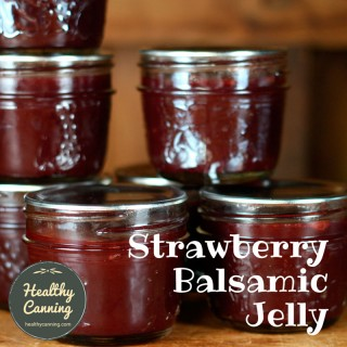 Strawberry Balsamic Jelly