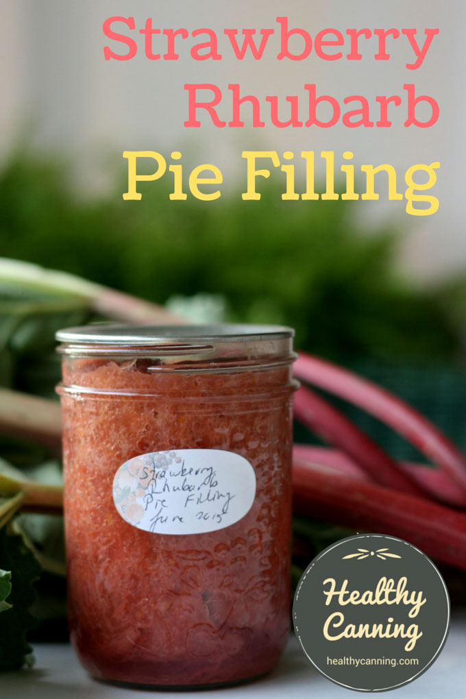 Strawberry Rhubarb Pie Filing 001