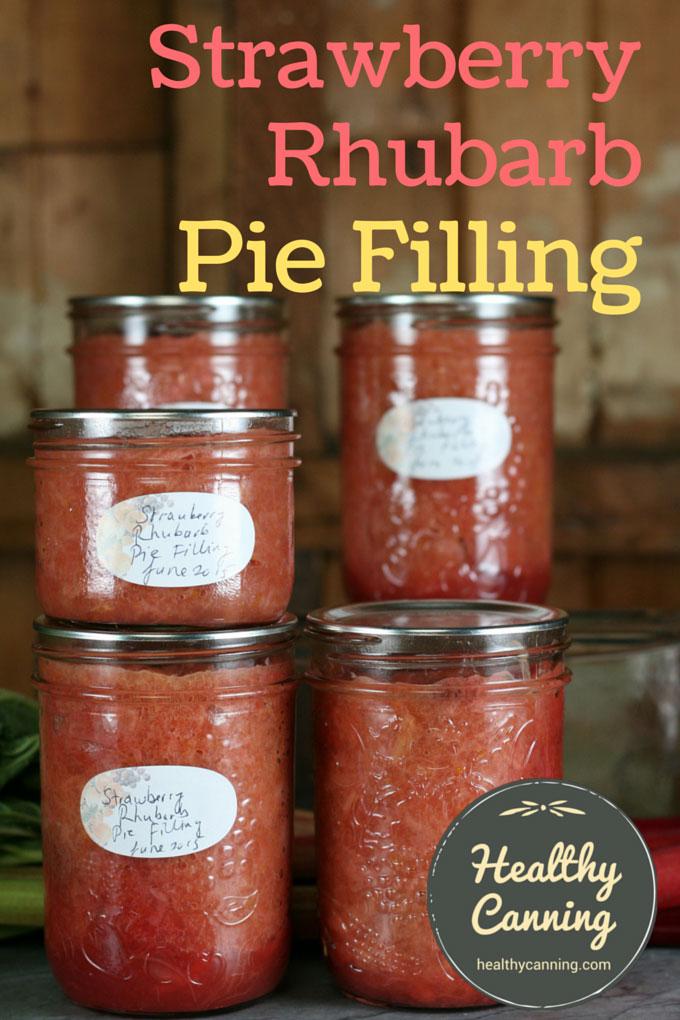 Strawberry Rhubarb Pie Filing 002