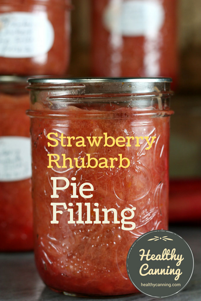 Strawberry Rhubarb Pie Filing 003