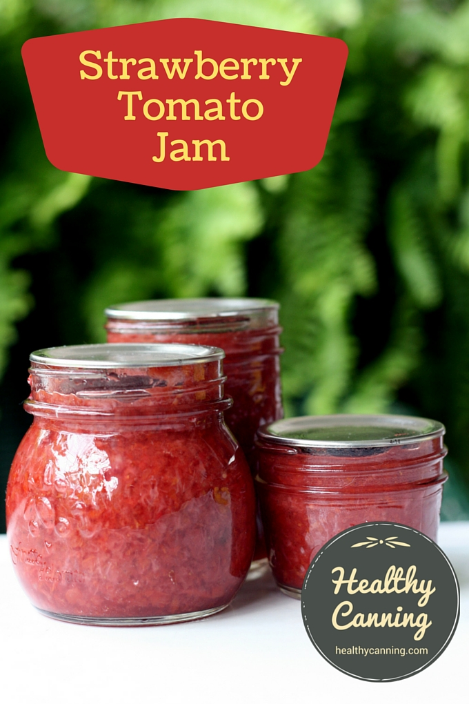 Strawberry Tomato Jam 2002