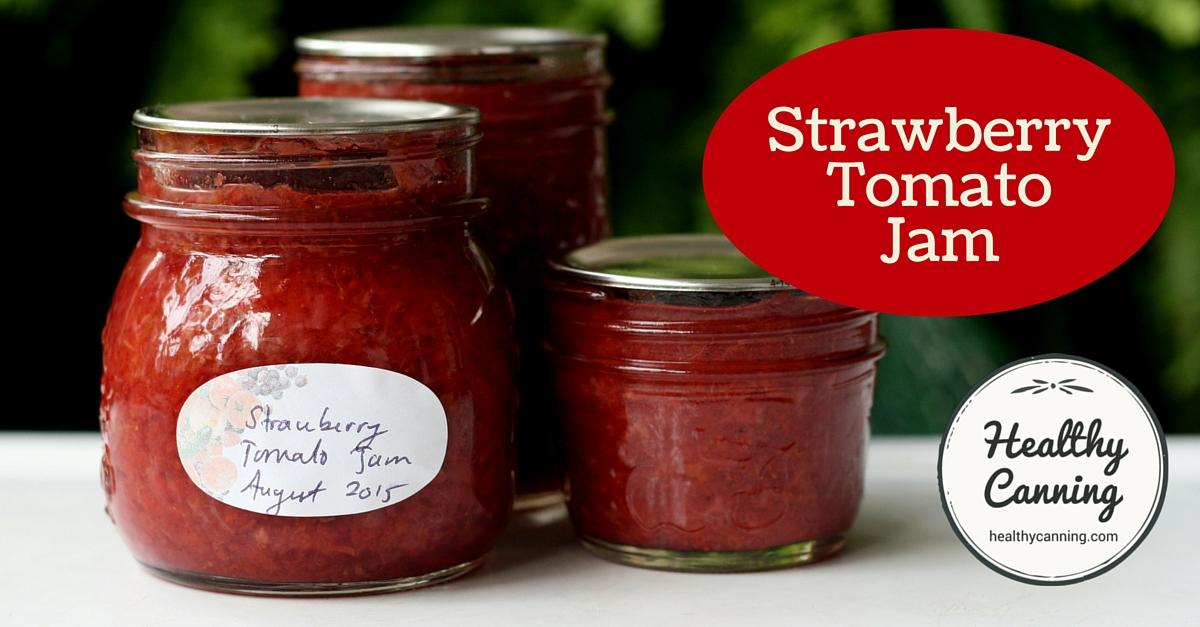 Strawberry Tomato Jam 2004