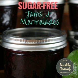 Sugar-free jams and marmalades