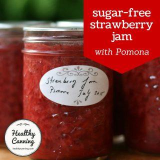 Strawberry Jam (with Pomona pectin)