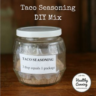 Taco Seasoning Mix DIY