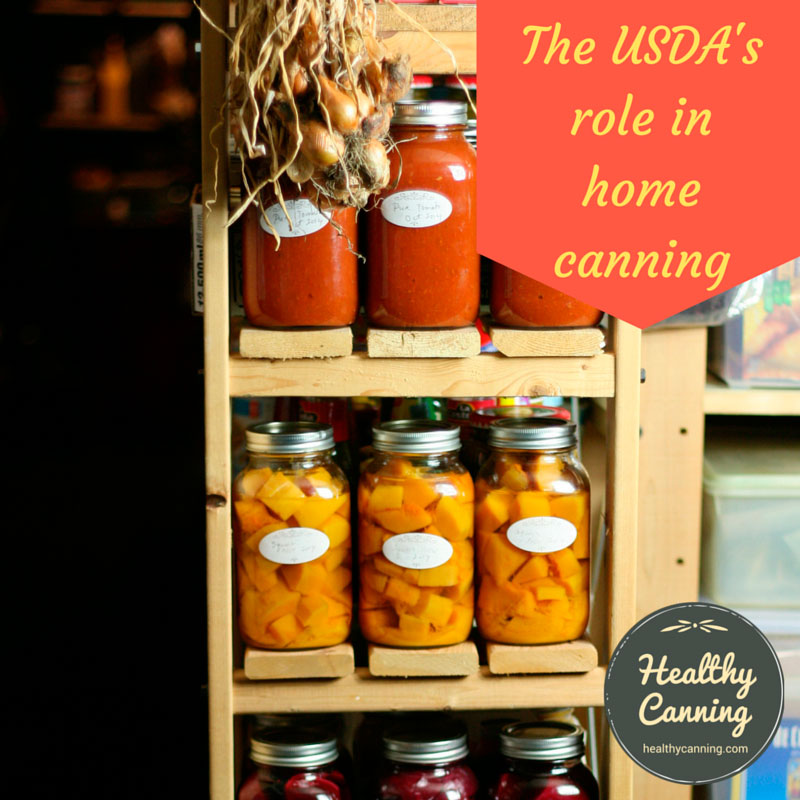 The USDA's role in home canning