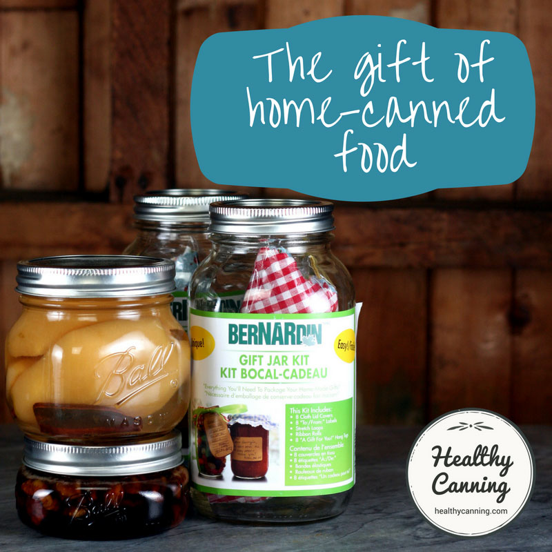 Giving Home Canned Items as Gifts