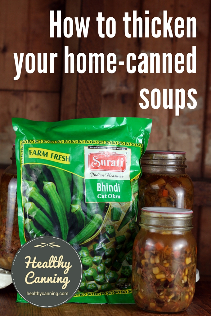 Thicken your home canned soups 2001
