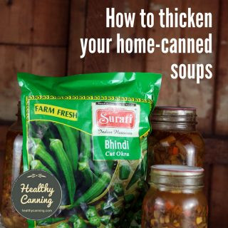 How to thicken your home-canned soups