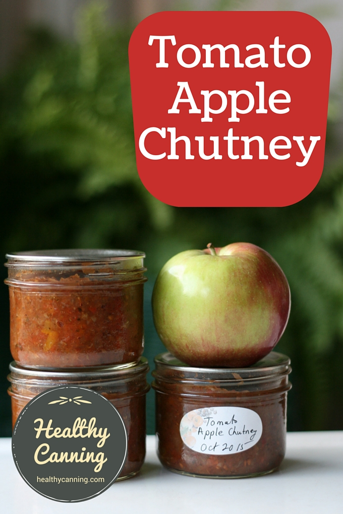 Tomato Apple Chutney - Healthy Canning