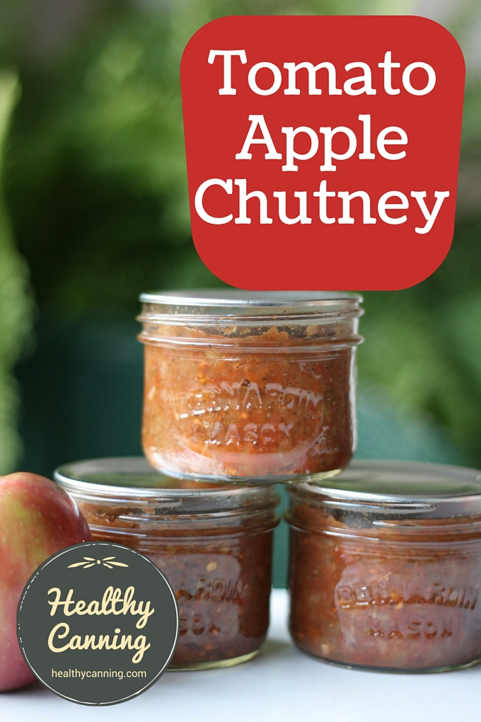 Tomato Apple Chutney 2002