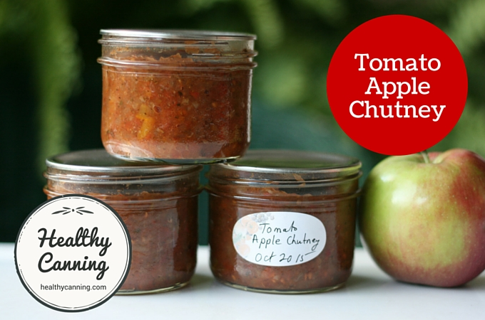 Tomato Apple Chutney 2004