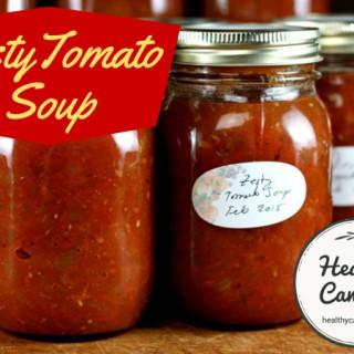 Zesty Tomato Soup