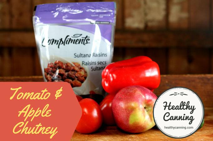 Tomato and Apple Chutney 002