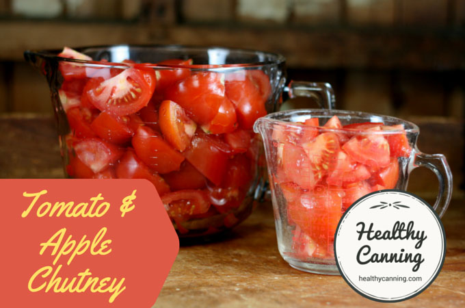 Tomato and Apple Chutney 003