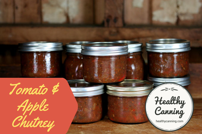 Tomato and Apple Chutney 005