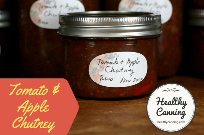 Tomato and Apple Chutney 006