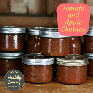 Tomato Apple Chutney