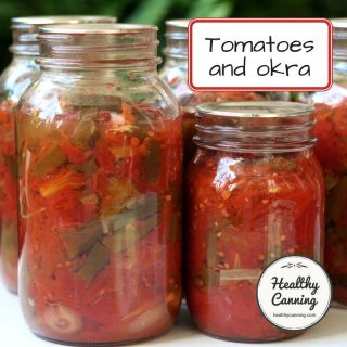 Tomatoes with okra
