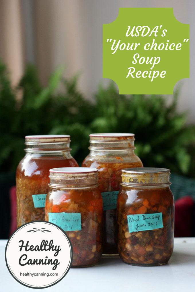 USDA your choice soup recipe 001
