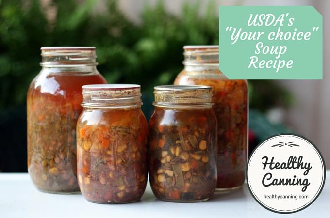 USDA your choice soup recipe 002
