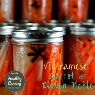 Vietnamese Carrot and Radish Pickle