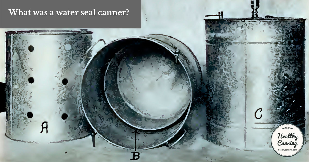 Water seal canners healthy canning