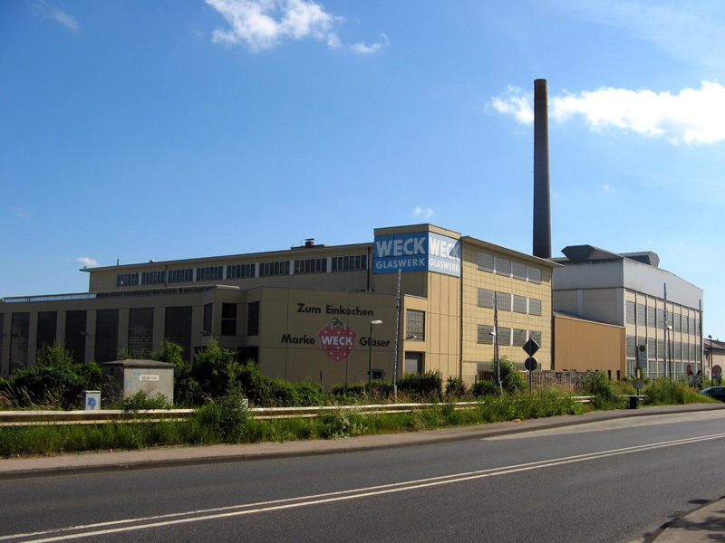 Weck factory in Bonn. VMH / Wikimedia / 2010 / CC BY 3.0