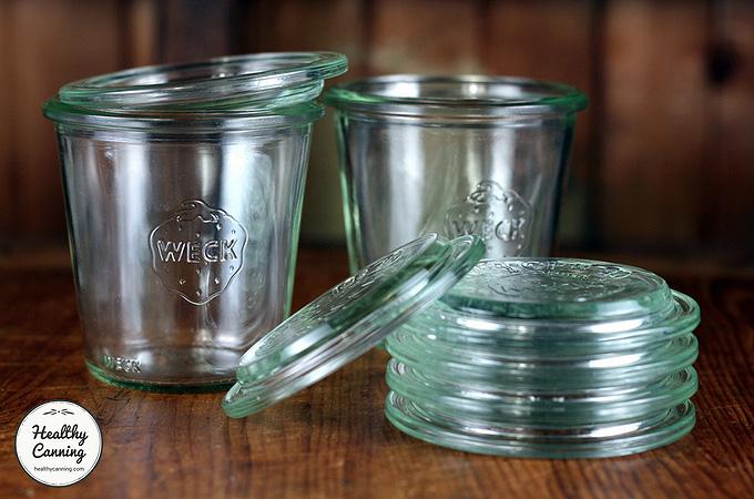 Weck jar lids / WECK Glasdeckel