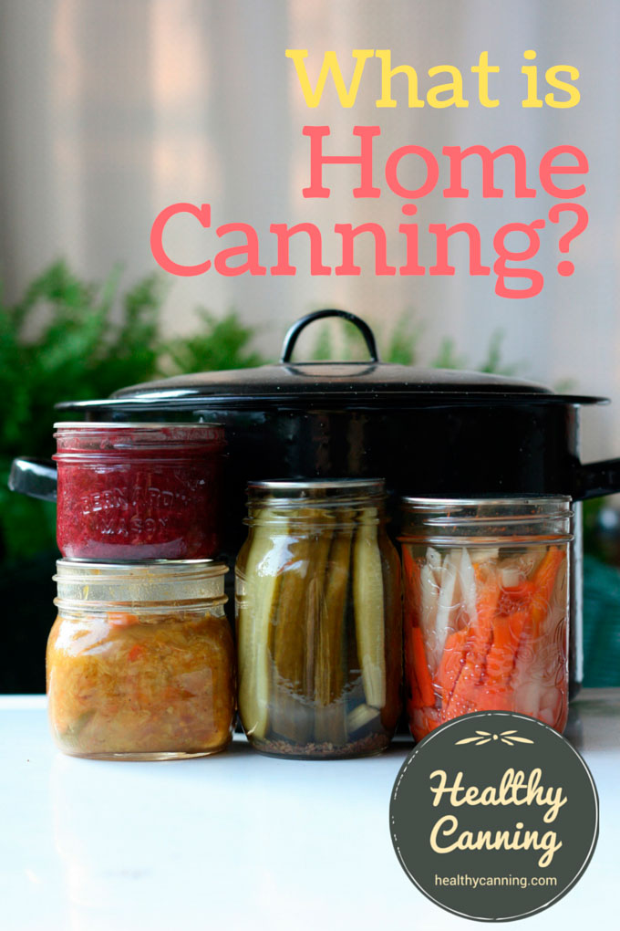 What is the definition of home canning?
