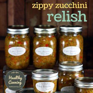 Zippy Zucchini Relish