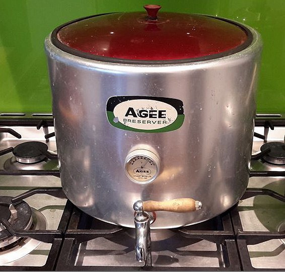 Agee stove-top sterilizer