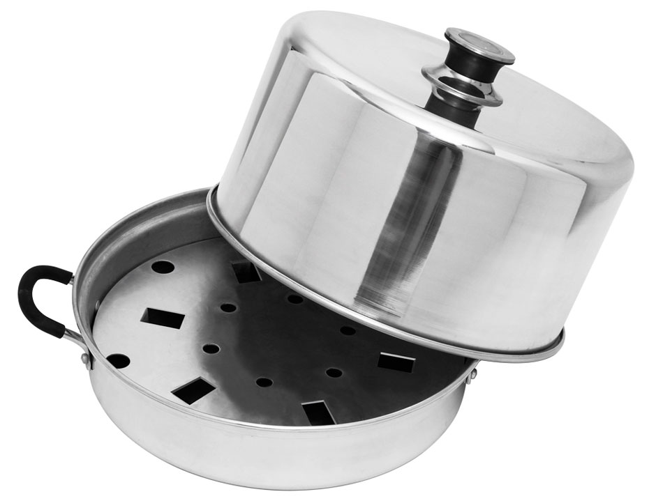 Flat bottom canning pot