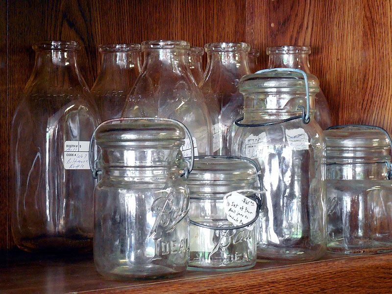 Ball's Ideal Brand Lightening jars