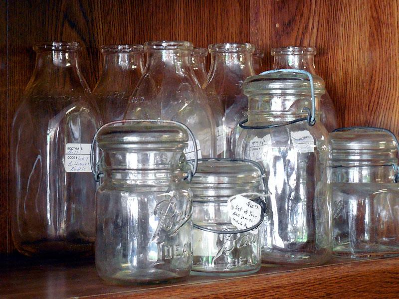 Ball's Ideal Brand Lightening jars
