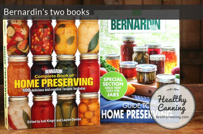 Bernardin Canning Books