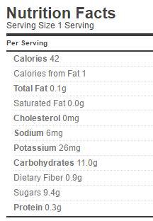 blueberry jam pomona nutrition regular