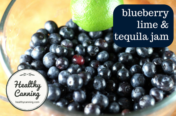 blueberry lime and tequila jam 009