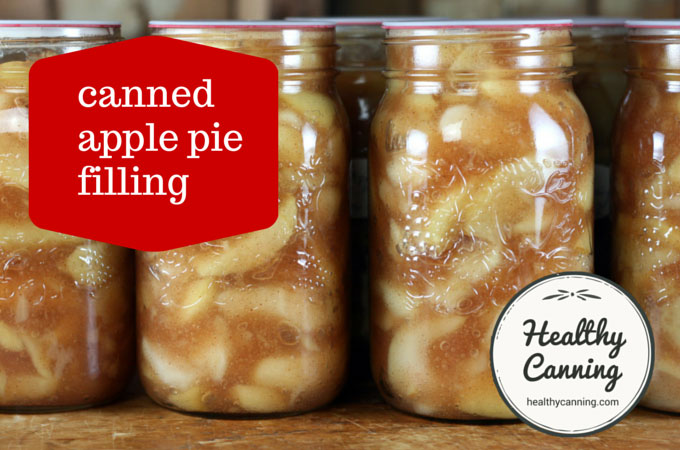 how to make canned apple pie filling
