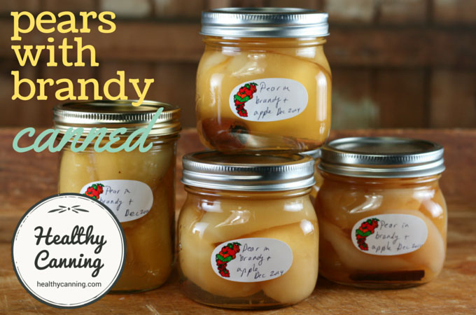 canned pears with brandy 006