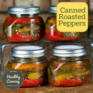 Canning roasted peppers