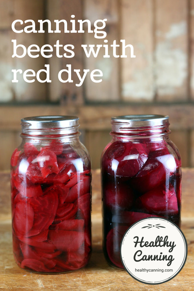 canning beets with red dye 001