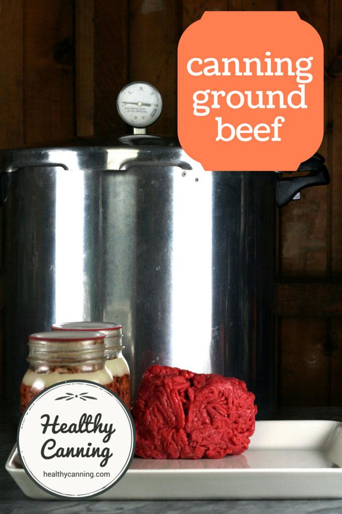 canning ground beef 001