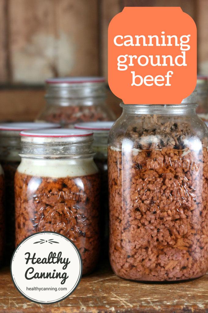 canning ground beef 003