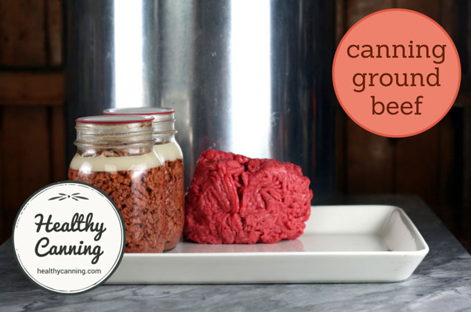 canning ground beef 014