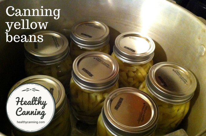 canning yellow beans 006