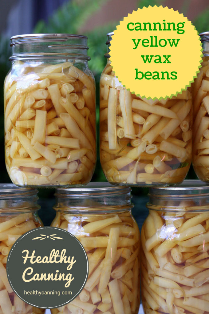 canning yellow wax beans 001