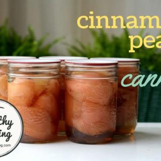 Cinnamon Pears