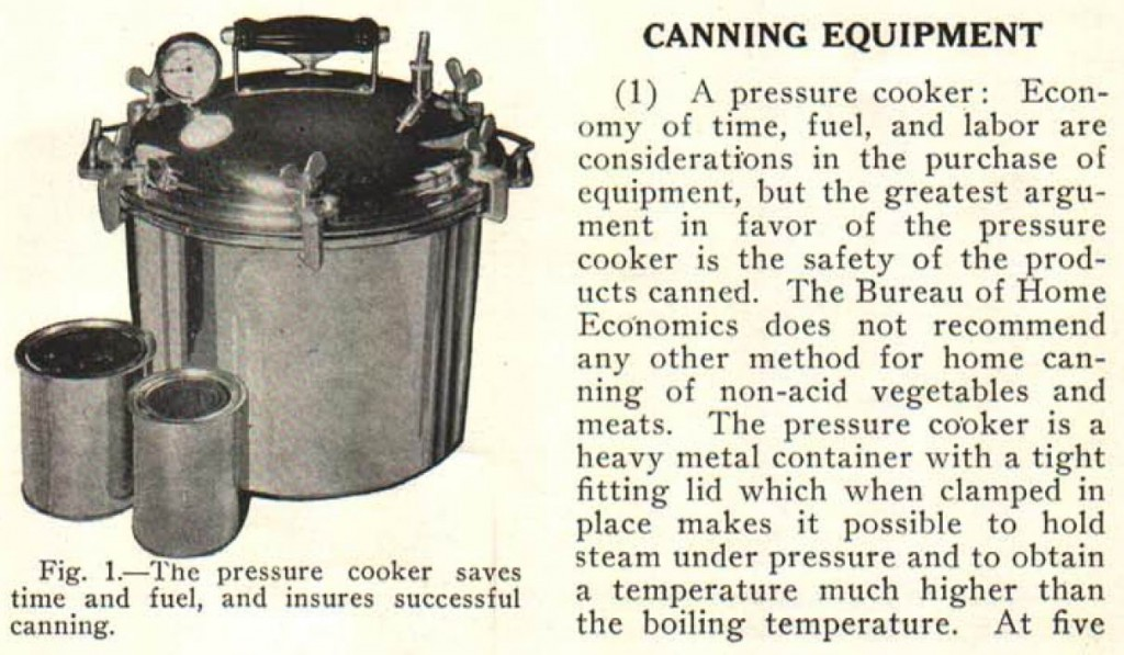 Old pressure canner
